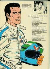 Verso de Michel Vaillant -18a1972- De l'huile sur la piste !