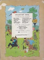 Verso de Tintin (Historique) -8B25- Le sceptre d'Ottokar