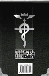 Verso de FullMetal Alchemist -INT05- Volume V - Tomes 10-11