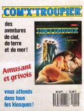 Verso de Orient Sexpress -1- L'Amour en wagon-lit