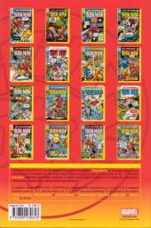 Verso de Iron Man (L'intégrale) -6- Intégrale 1970-1971