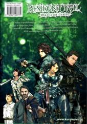 Verso de Resident Evil - Marhawa desire -3- Volume 3