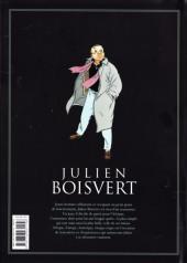 Verso de Julien Boisvert -INTc2013- Édition intégrale