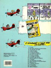 Verso de Les petits hommes -13b86- Les prisonniers du temps
