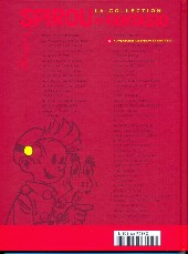 Verso de Spirou et Fantasio - La collection (Cobra) -19- 4 aventures de Spirou... et Fantasio