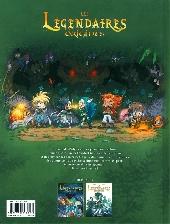 Verso de Les légendaires - Origines -2- Jadina