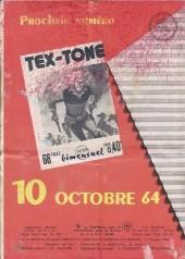 Verso de Tex-Tone -178- L'enfant terrible