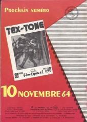 Verso de Tex-Tone -180- Drole de marché