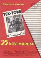 Verso de Tex-Tone -181- Rocco russel