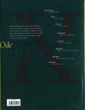 Verso de Ode à l'X