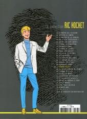 Verso de Ric Hochet - La collection (Hachette) -67- Le nombre maudit
