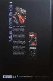 Verso de Batman, le Chevalier Noir -2- Cycle de violence