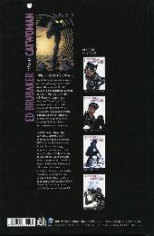 Verso de Catwoman (Ed Brubaker présente) -4- L'équipée sauvage