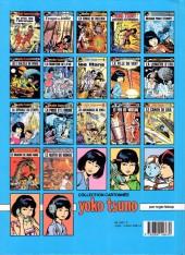 Verso de Yoko Tsuno -2b90- L'orgue du diable