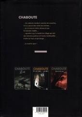 Verso de La bête (Chabouté) - La bête