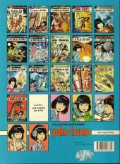 Verso de Yoko Tsuno -9a89- La fille au vent