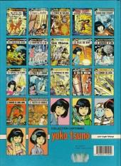 Verso de Yoko Tsuno -15a89- Le canon de kra