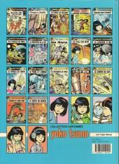 Verso de Yoko Tsuno -14a89- Le feu de wotan