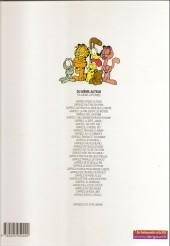 Verso de Garfield -15Ind2000- Fait boule de neige