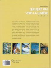 Verso de Quelques pas vers la lumière -5- Le Livre de la vie