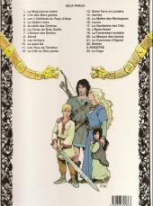 Verso de Thorgal -11b 97- Les yeux de tanatloc
