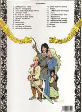 Verso de Thorgal -16b 98- Louve