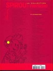 Verso de Spirou et Fantasio - La collection (Cobra) -21- Les chapeaux noirs et 3 autres aventures de Spirou et Fantasio !