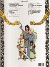 Verso de Thorgal -17a98- La gardienne des clés