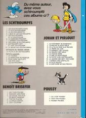 Verso de Johan et Pirlouit -10c78- La guerre des 7 fontaines