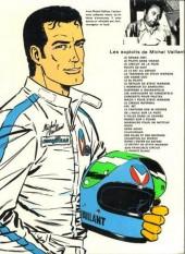 Verso de Michel Vaillant -12c1983- Les Chevaliers de Königsfeld