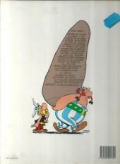 Verso de Astérix -4e1986- Astérix gladiateur