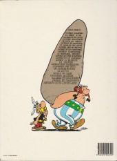 Verso de Astérix -10c1981- Astérix légionnaire