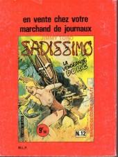 Verso de Les mâchos -8- Dernière valse à paris