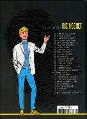 Verso de Ric Hochet - La collection (Hachette) -69- L'homme de glace