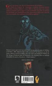 Verso de Lobster Johnson -1- Le Prométhée de fer