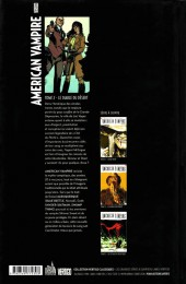 Verso de American Vampire -2a- Le diable du désert