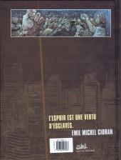Verso de Zombies (Peru/Cholet) -3- Précis de décomposition