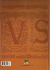 Verso de Victor Sébastopol -INT1- Les Mémoires d'un agent secret - Volume 1