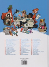 Verso de Spirou et Fantasio -19b2011- Panade à Champignac