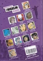 Verso de Chansons en Bandes Dessinées  -a- Chansons de Jacques Higelin en bandes dessinées