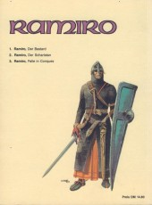 Verso de Ramiro (en allemand) -1- Der Bastard