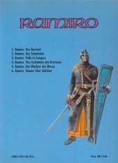Verso de Ramiro (en allemand) -6- Donner über Galizien