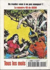 Verso de Capt'ain Swing! (2e série - Mon Journal) -40- L'ombre