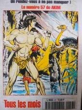 Verso de Capt'ain Swing! (2e série - Mon Journal) -57- La mort aux portes de Green Falls