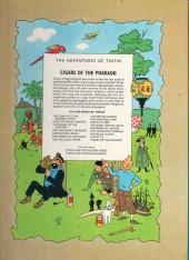 Verso de Tintin (The Adventures of) -4- Cigars of the Pharaoh