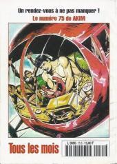 Verso de Capt'ain Swing! (2e série - Mon Journal) -75- Les morts-vivants