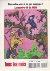 Verso de Capt'ain Swing! (2e série - Mon Journal) -47- La belle traîtresse