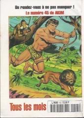 Verso de Capt'ain Swing! (2e série - Mon Journal) -45- Mystérieuse trahison