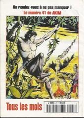 Verso de Capt'ain Swing! (2e série - Mon Journal) -41- Le vicomte parfumé