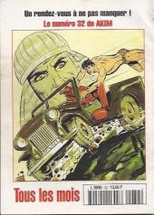 Verso de Capt'ain Swing! (2e série - Mon Journal) -32- La vengeance du tigre